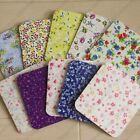 10pc modern floral NO Message multipurpose gift / Message Small Card w envelope