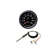 VDO Cockpit Vision EGT Pyrometer Pyro Gauge Kit + Thermocouple Sender 52mm 12v