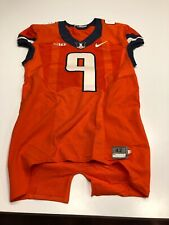 Game Worn Used Illinois Fighting Illini Football Jersey Nike Size 42 #9
