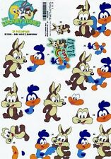 Looney Tunes 3D Decoupage Sheet Baby Wile E and Roadrunner