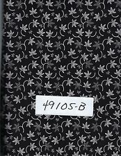 QUILT FABRIC: 100% COTTON, BLACK & WHITE,  49105-B,  By the Yard