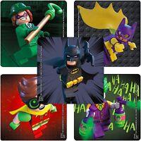 Batman LEGO Movie Stickers - Batman Lego Stickers x 5 - Birthday Party Favours