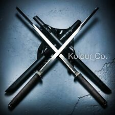 "40"" NINJA SAMURAI Twin Blade MARTIAL ARTS SWORDS Katana Japanese Combat DEADPOOL"