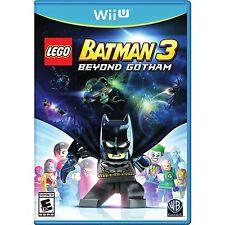 LEGO Batman 3: Beyond Gotham [Nintendo Wii U, NTSC, Action Hero Adventure] NEW