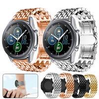 Edelstahl Uhrenarmband Für Samsung Galaxy Watch3 Active2 42mm 46mm S3 Strap Band
