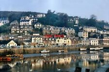 PHOTO  CORNWALL EARLY MORNING IN WEST LOOE CA 1960