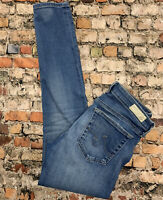 AG Adriano Goldschmied The MIDDI ANKLE Women's Size 27 Legging Stretch Jeans