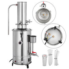 New listing 3L/H New Lab Pure Water Distiller Electric Stainless Moonshine Still Filter