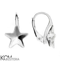 1 pair Sterling Silver leverback earring for 4428 2 mm crystals kz 66