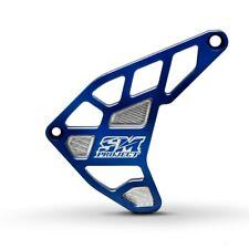 Copri pignone Husqvarna 701 KTM 690 SM enduro SM Project cnc parapignone (blu)