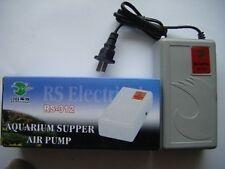 RS-312 - Aquarium Emergency oxygen air pump ( power + battery dual )