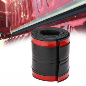 11*340cm Black Rubber Universal Truck Pickup Tailgate Trunk Gap Sealing Strip