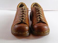 Doc Dr. Martens Shoes 12283 Women Brown Leather Oxford Flower EU 38 US 7