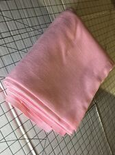 4-yards Long X 45 W Pastel Pink Linen Fabric Used-Other