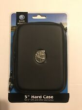 """Rand McNally 5"""" Hard Case / Cover For GPS Or Electronics - New"""