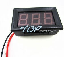 10PCS Red LED Panel Meter Mini Digital Voltmeter DC 0V To 99.9V TOP