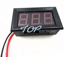 10PCS Red LED Panel Meter Mini Digital Voltmeter DC 0V To 99.9V TOP
