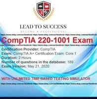 CompTIA A+ CORE 1 220-1001 Exam Q&A + SIMULATOR ### LATEST UPDATED ###