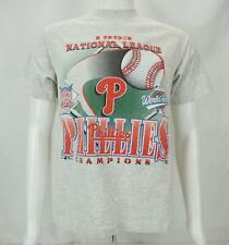 VTG 1993 Nat'l League Champs Philadelphia Phillies T-Shirt Made in USA Men's Med