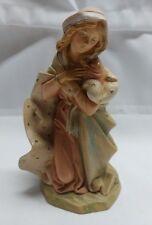"""fontanini nativity 7.5"""" scale Italy 72812 mary 1993 figure"""