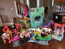 He Man Masters Of The Universe grayskull, action figures, vehicles lot