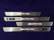 BRABUS Style Door Sills with Lighting LED for Mercedes-Benz A-Class W176