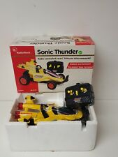 Sonic Thunder Radio Controlled Racer Radio Shak InterTan 60-4179 Vintage Toy Car