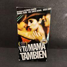 Y Tu Mama Tambien (2001, Vhs) Alfonso Cuaron Film Movie Video Tape