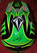 RYAN VILLOPOTO Signed Thor Monster Quadrant Helmet *JSA COA *Black