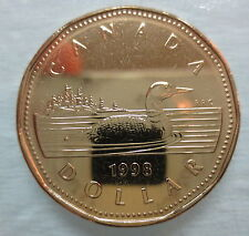 1998 CANADA LOONIE PROOF-LIKE ONE DOLLAR COIN