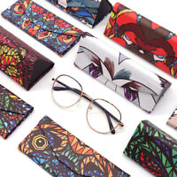 Eyeglass Cases Glasses Case Hard Shell Folds Flat Portable Gifts Party Favors