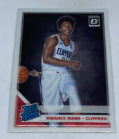 2019-20 Donruss Optic Base Rated Rookies #165 Terance Mann- LA Clippers RC