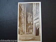 old GB real photo card,view fm SE Transept,Liverpool Cathedral,91734JV 10.4x6cm
