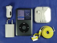 APPLE IPOD CLASSIC VIDEO 160 GB NERO 7° GEN MOD: MC297 SLIM PERFETTO, SCONTO