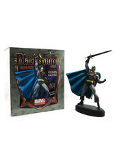 Bowen Designs Black Knight Statue Blue Cape 439/1200 Marvel Sample New In Box