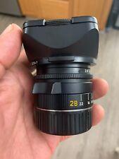 Leica Elmarit-M  28mm f/2.8 typ IV.