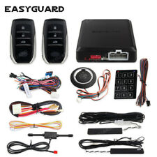 pke car alarm system remote auto start push start button keyless go central lock