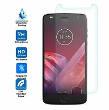 [3-Pack] Tempered Glass Screen Protector For Motorola Moto Z2 Play / Z2 Force
