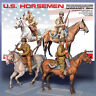 MINIART 1/35 U.S. HORSEMEN NORMANDY 1944 KIT 35151