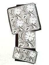 7048 Vintage Design FILET DOGWOOD Pattern to Crochet (Reproduction)