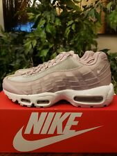 46340fd2c7 NIKE WOMEN'S AIR MAX 95 SE SNEAKERS SIZE 8.5 PINK GLITTER AT0068-600  THESPOT917