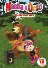 Dvd MASHA y el oso - ROCKSTAR NUEVO