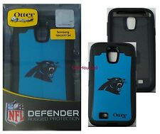 OtterBox Defender Case for Samsung Galaxy S4, NFL Carolina Panthers, 77-50090