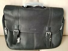 New with tags-Kenneth Cole Reaction laptop bag Full-Grain Colombian Leather