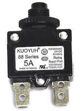 KUOYUH 5A 88 Series Circuit Breaker 125/250VAC 50/60Hz (1pc)