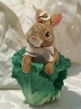 Midwest Of Cannon Falls Bunny Rabbit Cabbage Easter Ornament 2� W/ Tag