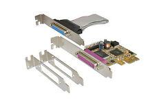 Exsys EX-44012 - PCI-Express Karte 2x Parallel EPP/ECP, inkl. LP Bügel