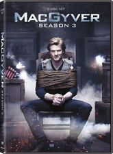 Macgyver 2016 Tv Series Complete Season 3 New Sealed Dvd