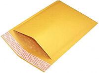 100PCS #000 4x7 Kraft Bubble Padded Envelope Shipping Mailer Seal Bag