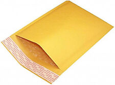"500PCS #0000 4""x7"" Kraft Bubble Padded Envelope Shipping Mailer Seal Bag"